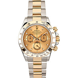 Rolex Pre-Owned Yellow Gold Daytona 116523 Champagne