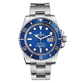 Rolex Submariner 116610 Blue Dial 40mm Mens Watch