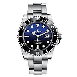 Rolex Submariner 116610 Deep Blue Dial 40mm Mens Watch
