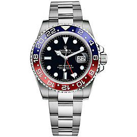 Rolex GMT-Master II Custom Ceramic Blue/Red 116710 40mm Men's Watch