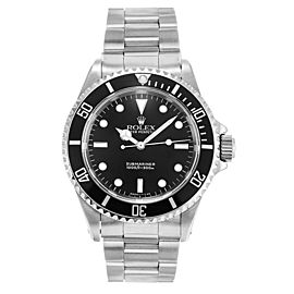 Rolex Submariner Black Dial 14060 40mm Mens Watch