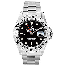 Rolex Explorer II 16570 Black Dial 40mm Mens Watch