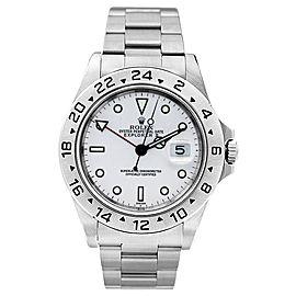 Rolex Explorer II 16570 White 40mm Men's Watch