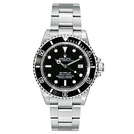 Rolex Sea-Dweller 16600 Black Dial 40mm Mens Watch