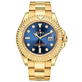 Rolex Yacht-Master Gold 16628 Blue
