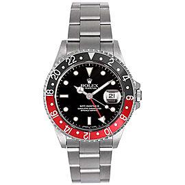 Rolex GMT-Master II Black/Red 16710 40mm Men's Watch