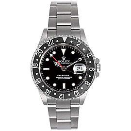 Rolex GMT-Master II Black 16710 40mm Men's Watch