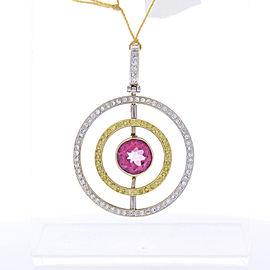 18 karat two-tone gold 0.19 carat ring