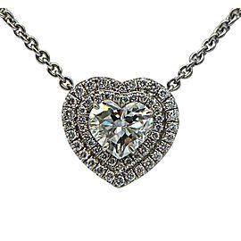 Sea Wave Diamonds 18k White Gold G VS1 .90CT Diamond Necklace