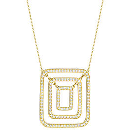 Piece Swing Diamond Necklace (Medium)