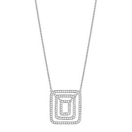Piece Swing Diamond Necklace (Small)