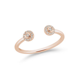 Rose Gold Lauren Joy Open Disc Ring