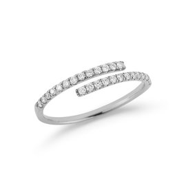 White Gold Lauren Joy Wrap Ring