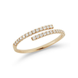 Yellow Gold Lauren Joy Wrap Ring