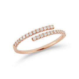 Rose Gold Lauren Joy Wrap Ring