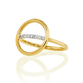 Yellow Gold Affair Halo Ring