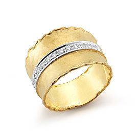 I.Reiss 14K Yellow Gold 0.26 Ring Size 7