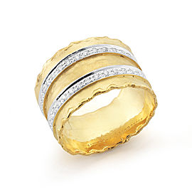 I.Reiss 14K Yellow Gold 0.4 Ring Size 7
