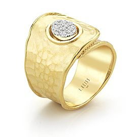 I. Reiss R2551Y 14k Yellow Gold diamonds0.25 H-SI Diamonds Rings