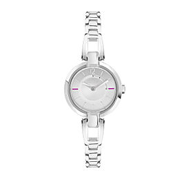 Furla Women's Linda Silver Dial Stainless Steel Watch