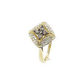 Espresso Two Tone Diamond Ring