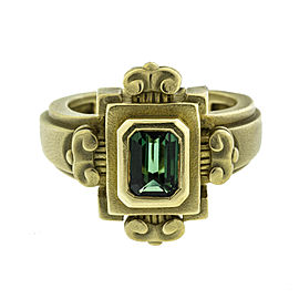 Kieselstein Cord 18k Yellow Gold Emerald Ring