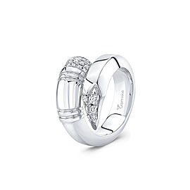 TZURI White Gold Large Signature Ring
