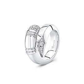 TZURI White Gold Large Signature Ring