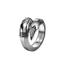 TZURI Black Gold Large Signature Ring