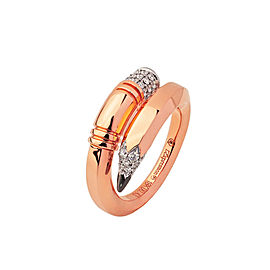 TZURI Rose Gold Medium Signature Ring