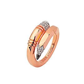 TZURI Rose Gold Medium Signature Ring