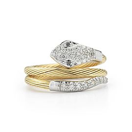 I. Reiss RM106Y 14k Yellow Gold diamonds0.25 H-SI Diamonds Rings