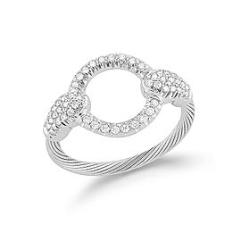 I. Reiss RM109W 14k White Gold diamonds0.38 H-SI Diamonds Rings