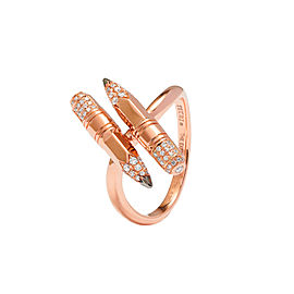 TZURI Rose Gold Twin Ring