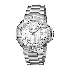 Roberto Cavalli White Silver Stainless Steel RV1G038M0066 Watch