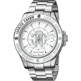 Roberto Cavalli White Silver Stainless Steel RV1L001M0016 Watch