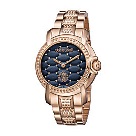 Roberto Cavalli Rose Rose Gold Stainless Steel RV1L019M0136 Watch