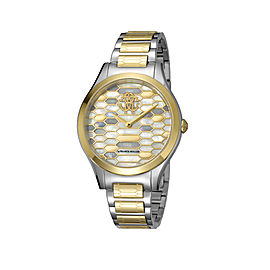 Roberto Cavalli Gold Gold Stainless Steel RV1L041M0106 Watch