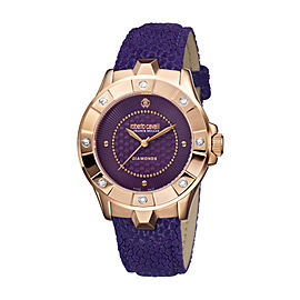 Roberto Cavalli Purple Purple Stainless Steel RV2L008L0056 Watch