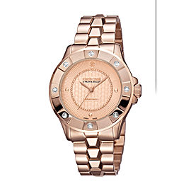 Roberto Cavalli Rose Rose Gold Stainless Steel RV2L008M0116 Watch