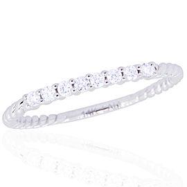 14k White Gold Diamond Ring Size 7