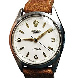 Rolex Oyster Royal Shock Resistant 6444 Vintage Mens 31mm Watch