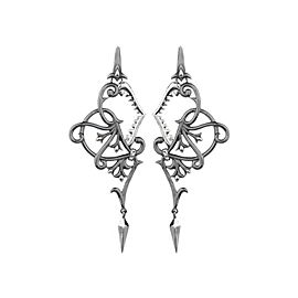 Stephen Webster Black Rhodium Stainless Steel Earrings