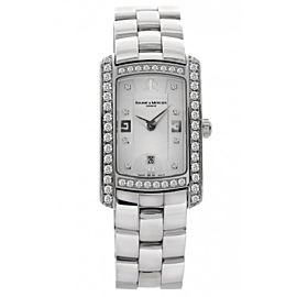 Baume & Mercier 8513 Hampton Milleis Stainless Steel Womens Watch