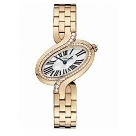 Cartier Delices De Cartier WG800003 18K Rose Gold 30.78mm Watch