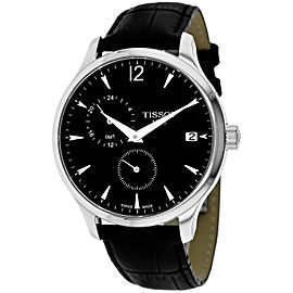 Tissot Tradition GMT T0636391605700 42mm Mens Watch