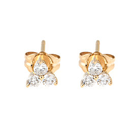 Tara 14k Rose Gold and 0.30ct HI/SI3-I1 Diamond Earrings