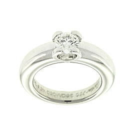 Cartier 18k White Gold Diamond Engagement Ring