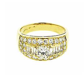 Bvlgari 18k Yellow Gold Diamond Ring