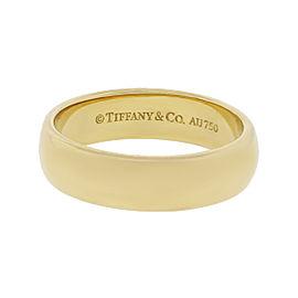 Tiffany & Co. 18K Yellow Gold Wedding Band